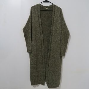 Silence and Noise Long Cardigan Small